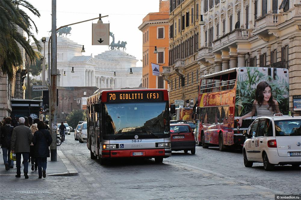 Фото автобуса IVECO CityClass 491E.12.27 в Риме