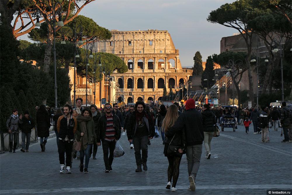 Фото Колизея в Риме, Италия