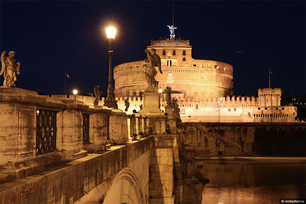 Замок Святого Ангела мавзолей Адриана фото