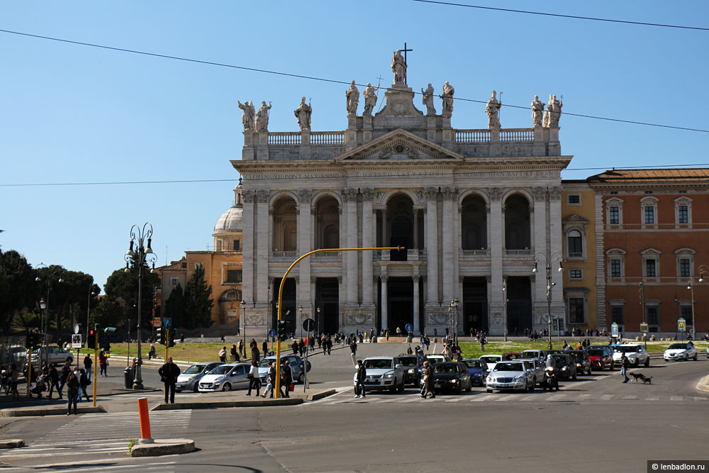 Собор Святого Иоанна Латеранского в Риме