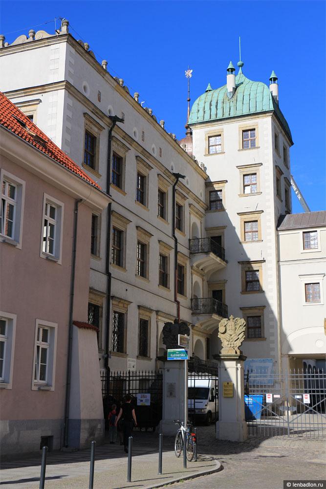 Штеттинский замок в Щецине