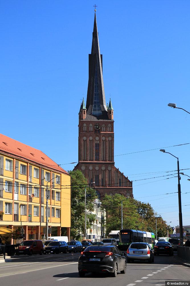 Фото Кафедрального собора в Щецине