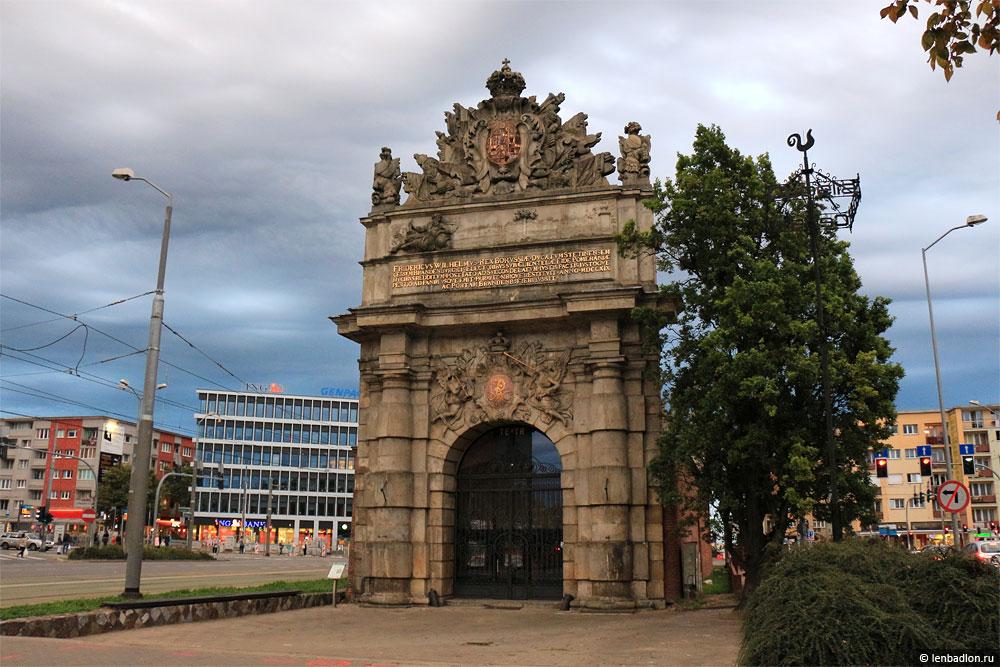 Фото Портовых ворот в Щецине