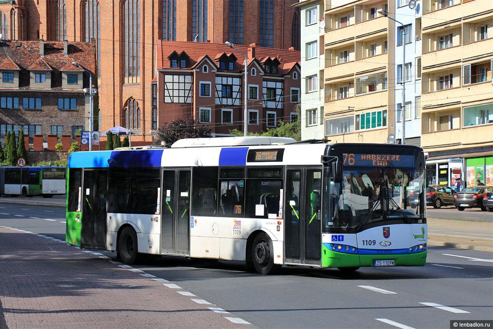 Фото автобуса Solaris Urbino 12 в Щецине