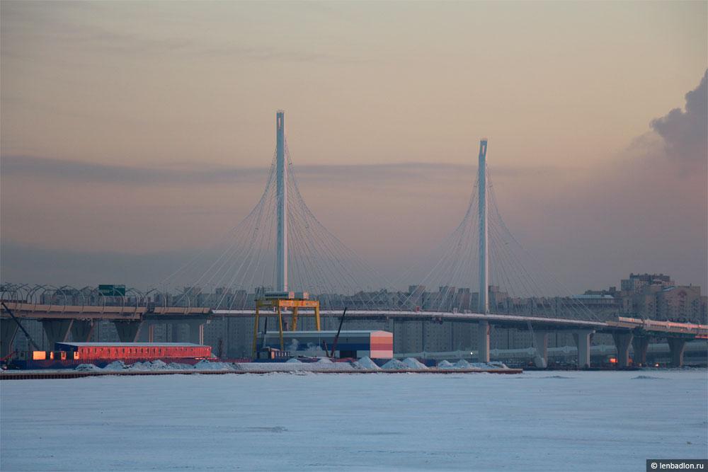 Фото вантового моста в составе ЗСД