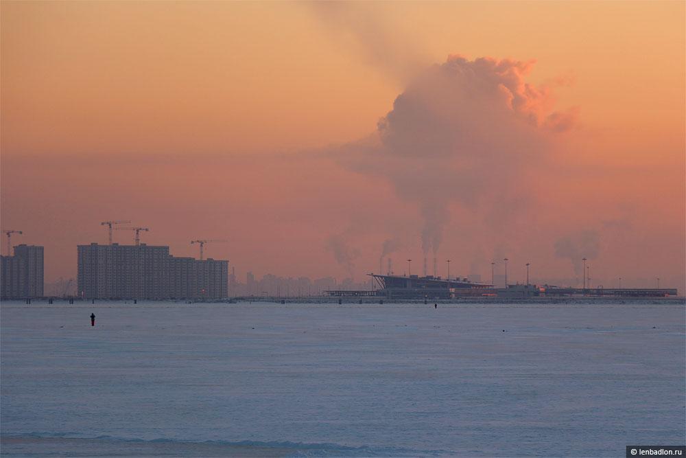 Фото морской пассажирского порта Санкт-Петербург