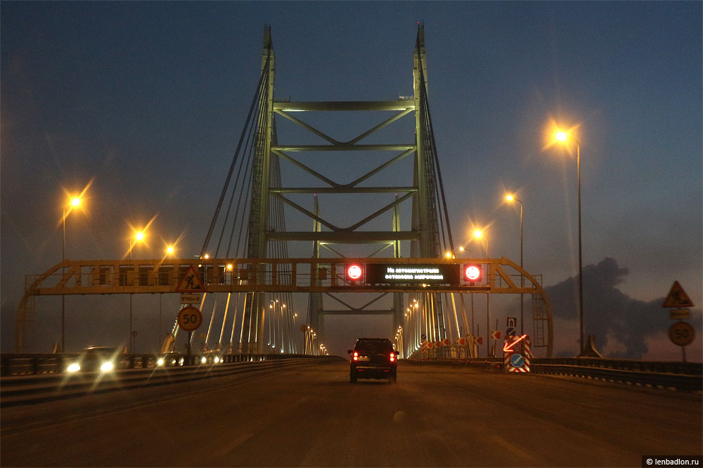 Фото моста на ЗСД