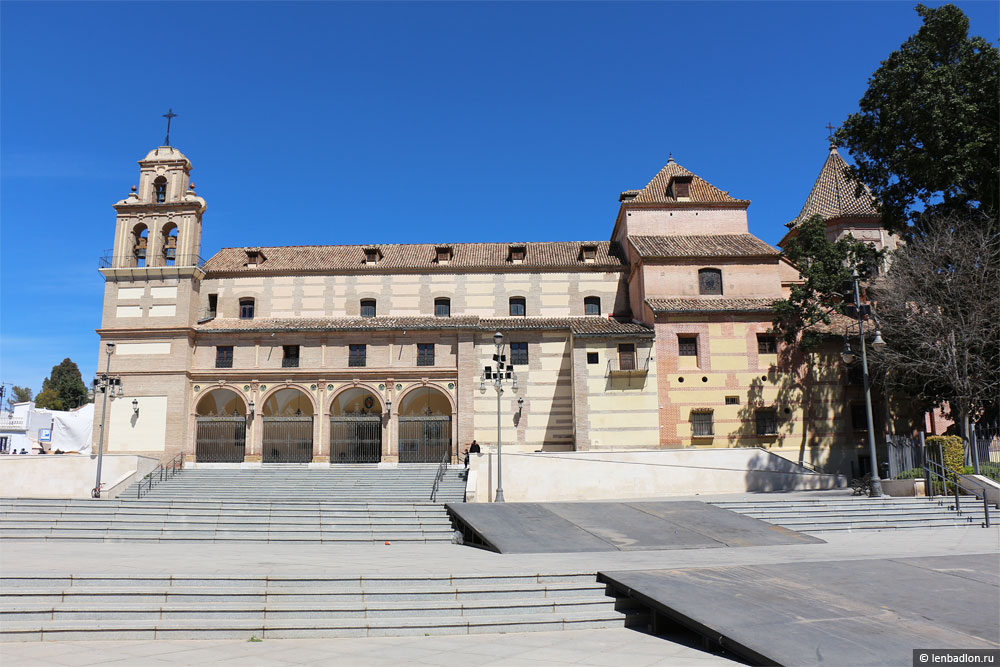 Фото собора в Малаге Испания