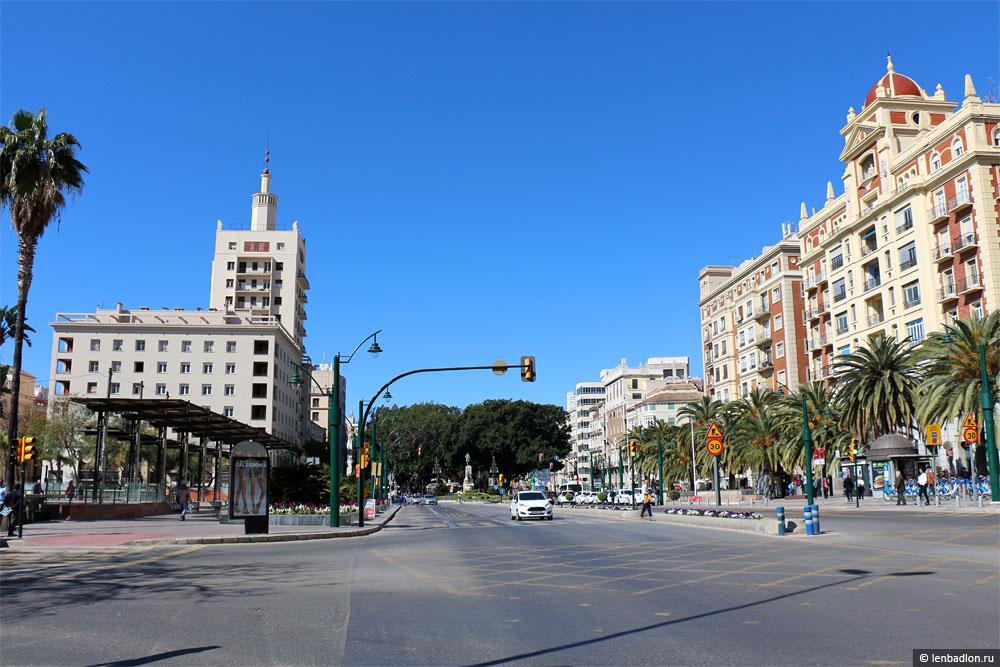 Малага фото улицы
