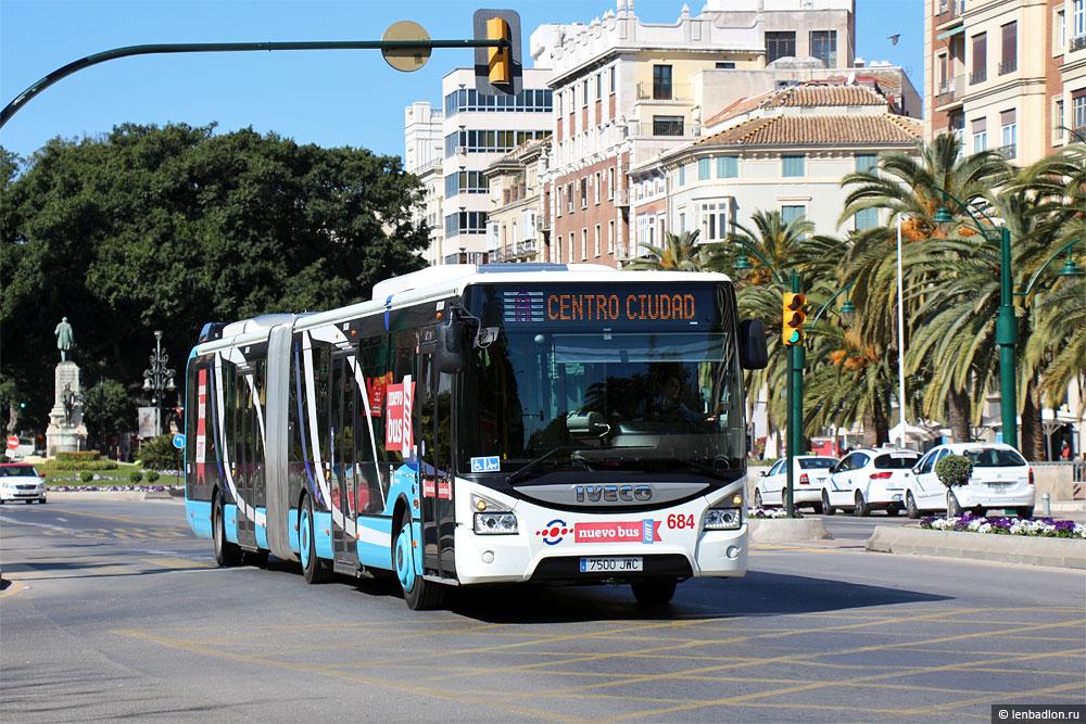 Фото автобуса IVECO Urbanway 18M в Малаге