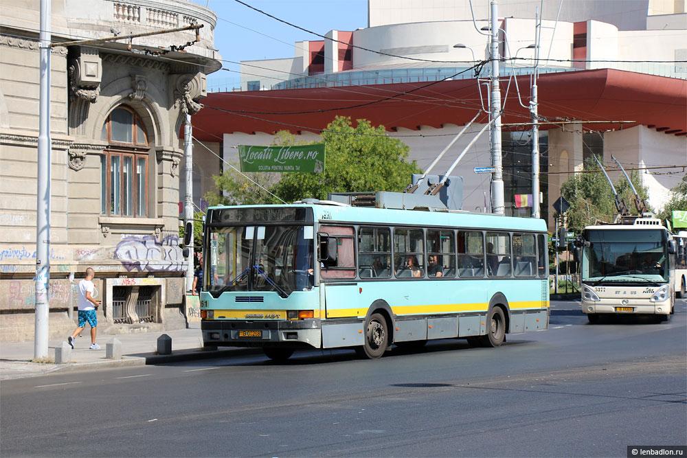 Фото троллейбуса Ikarus 415.80 в Бухаресте