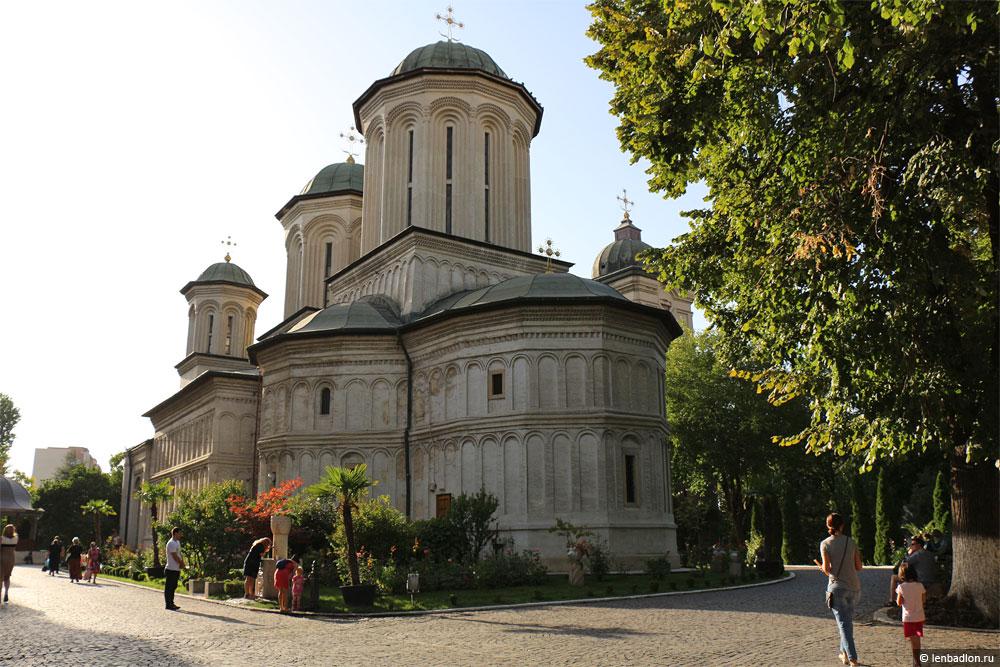 Фото монастыря Раду Вода в Бухаресте