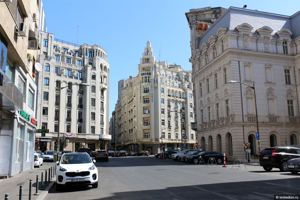 Бухарест фото улицы