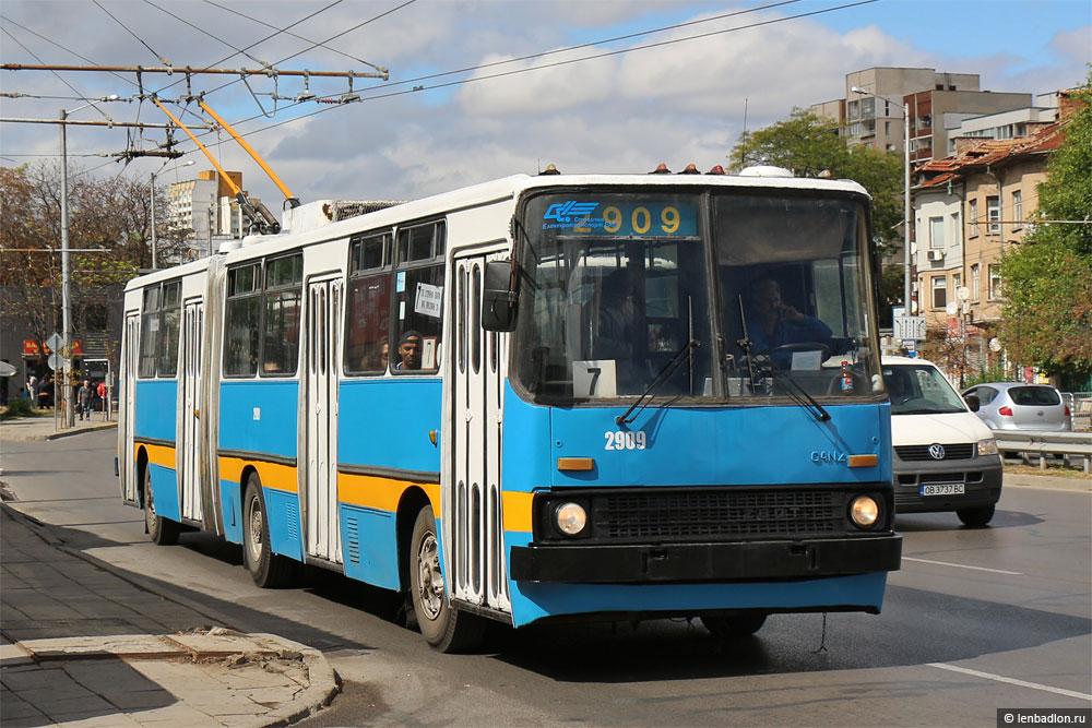 Фото троллейбуса Ikarus 280.92 в Софии