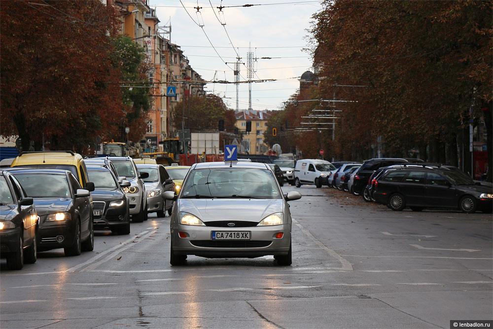 Учебный автомобиль в Софии фото