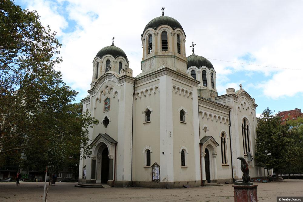 Фото собора в Софии