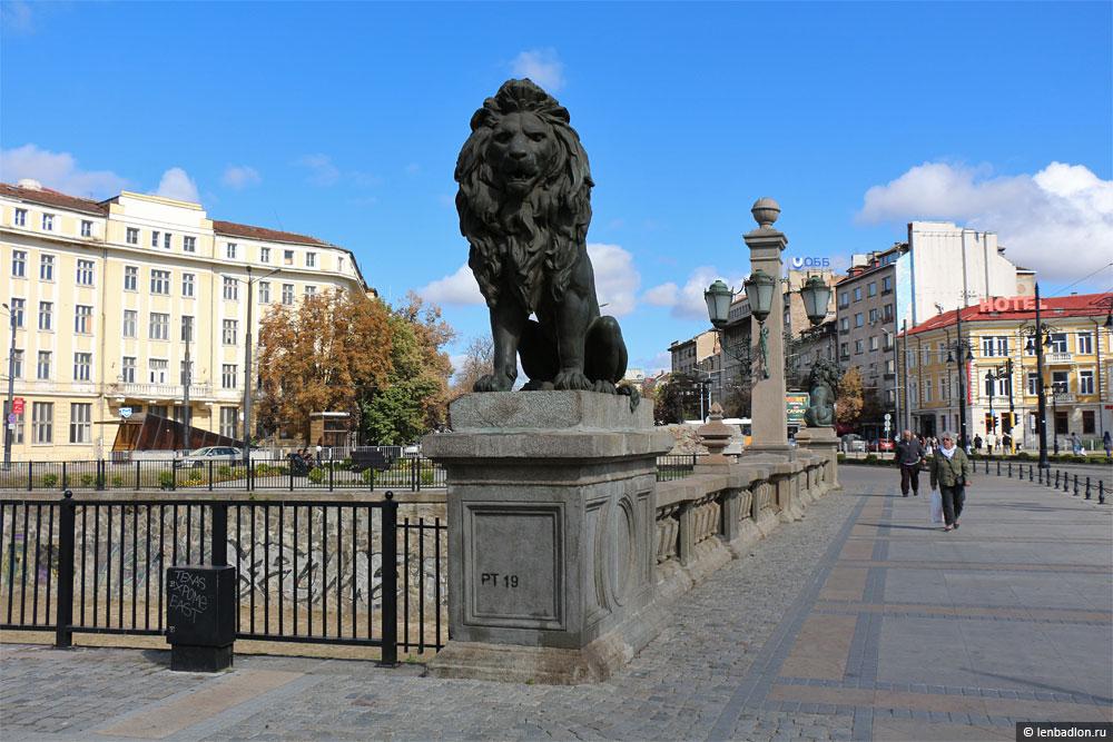 Львов мост в Софии