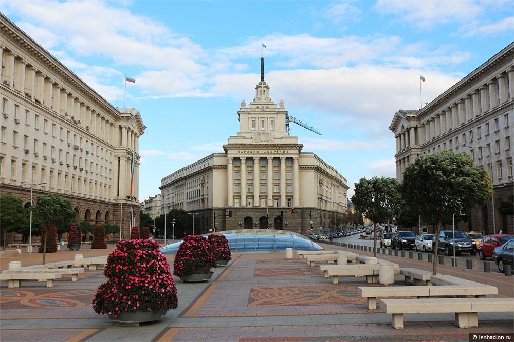Фото здания Народного собрания Болгарии