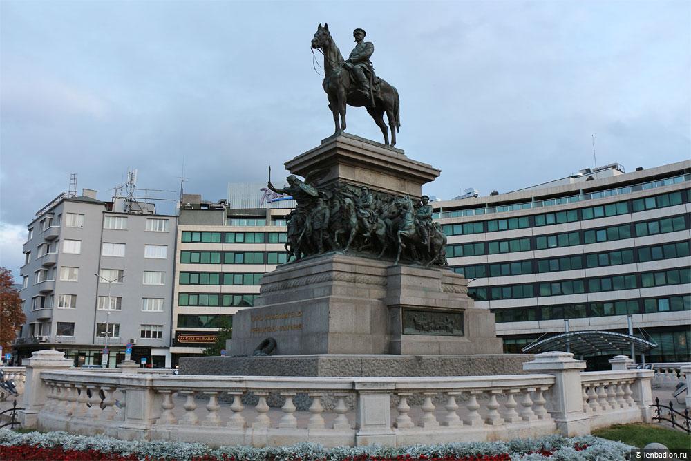 Памятник Царю-Освободителю в Софии