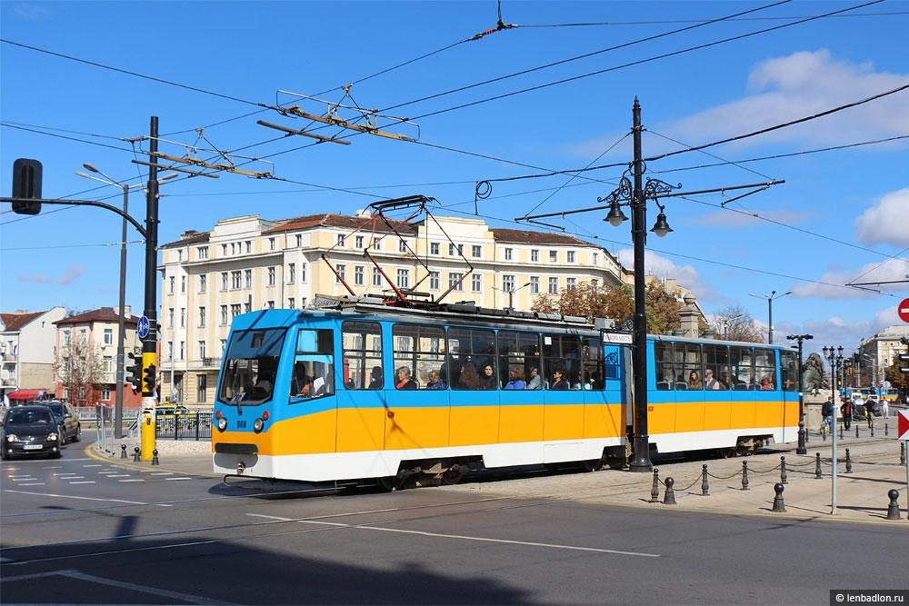 Фото софийского трамвая