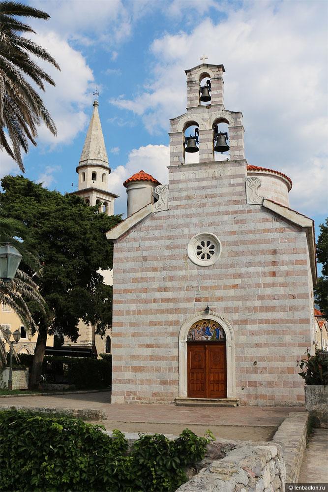 Церковь в Будве, Черногория