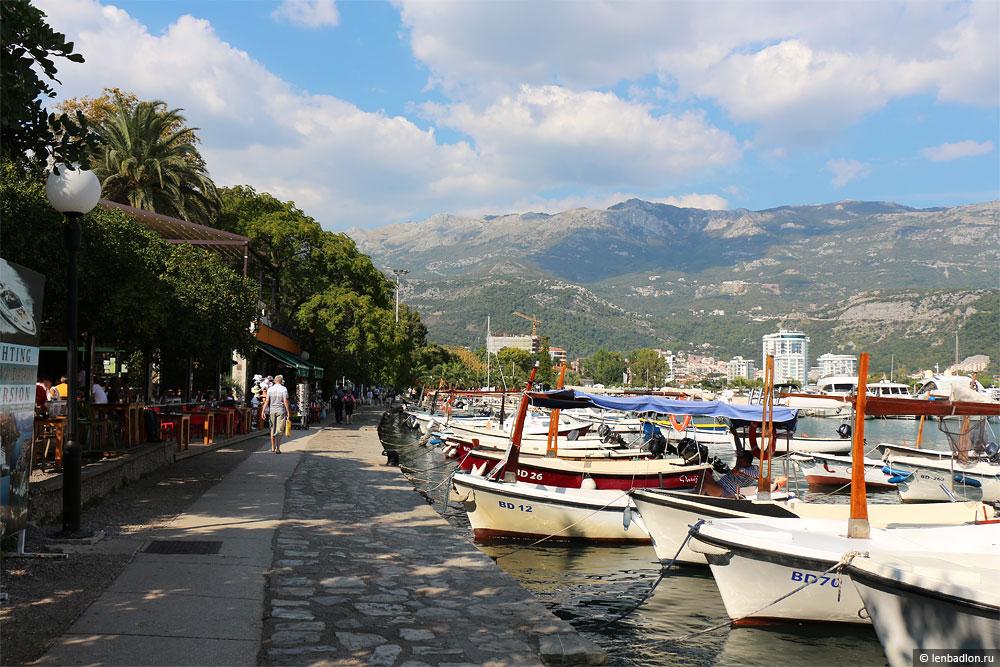 Набережная в Будве, Черногория