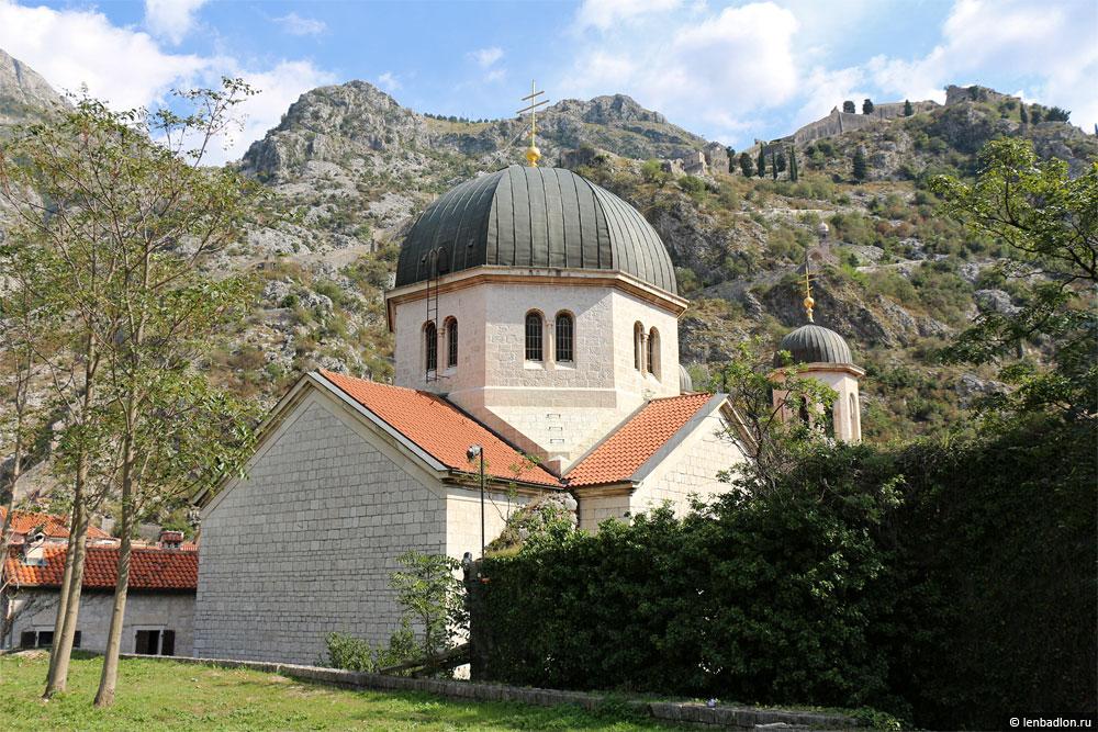 Фото церкви в Которе