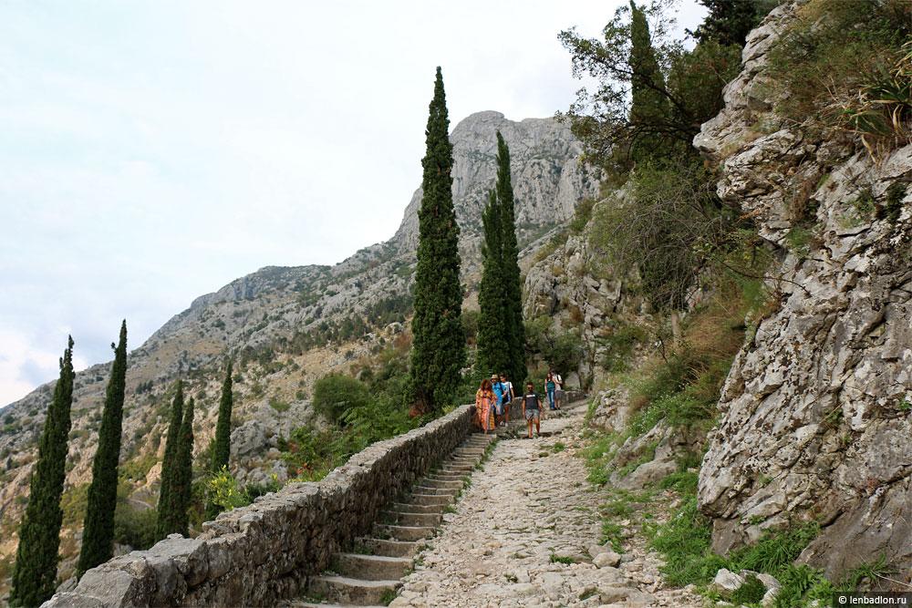 Лестница к крепости святого Иоанна