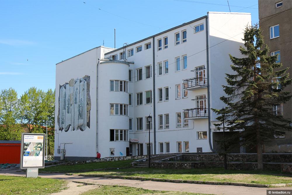Дом Туркама в Сортавале