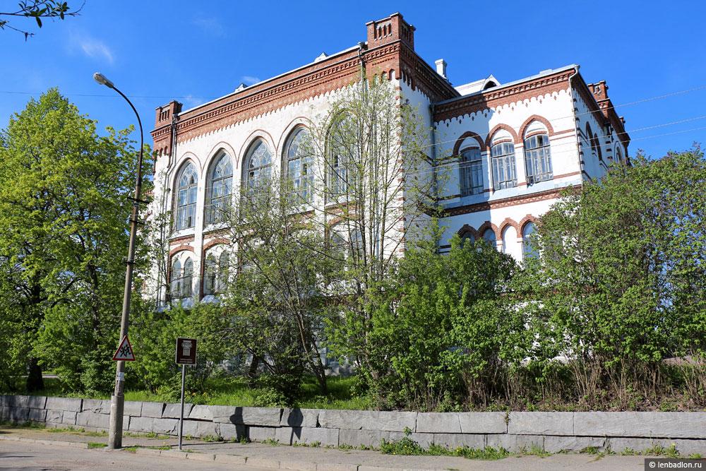 Бывшее здание Сортавальского мужского лицея фото