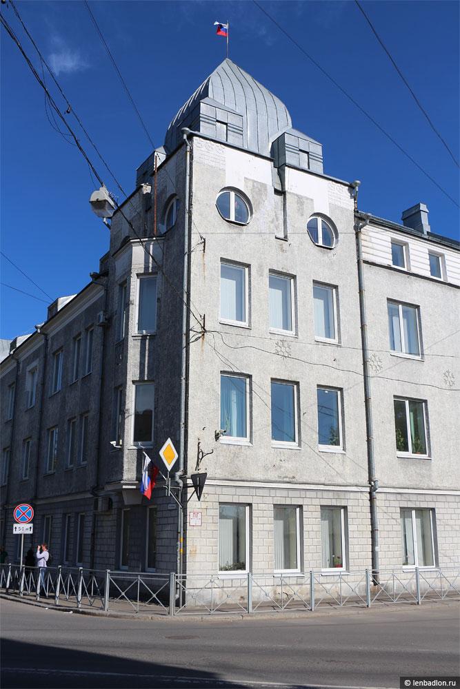 Фото здания администрации Сортавальского района