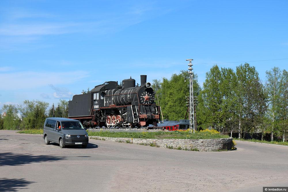 Паровоз-памятник Эр 788-81