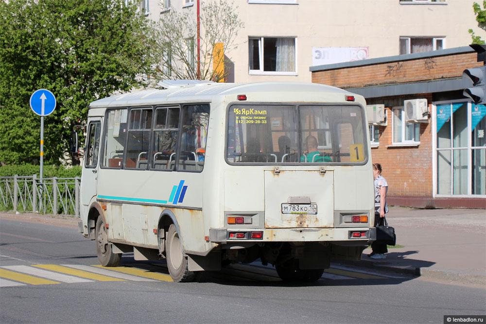 Автобус ПАЗ-32053 в Сортавале