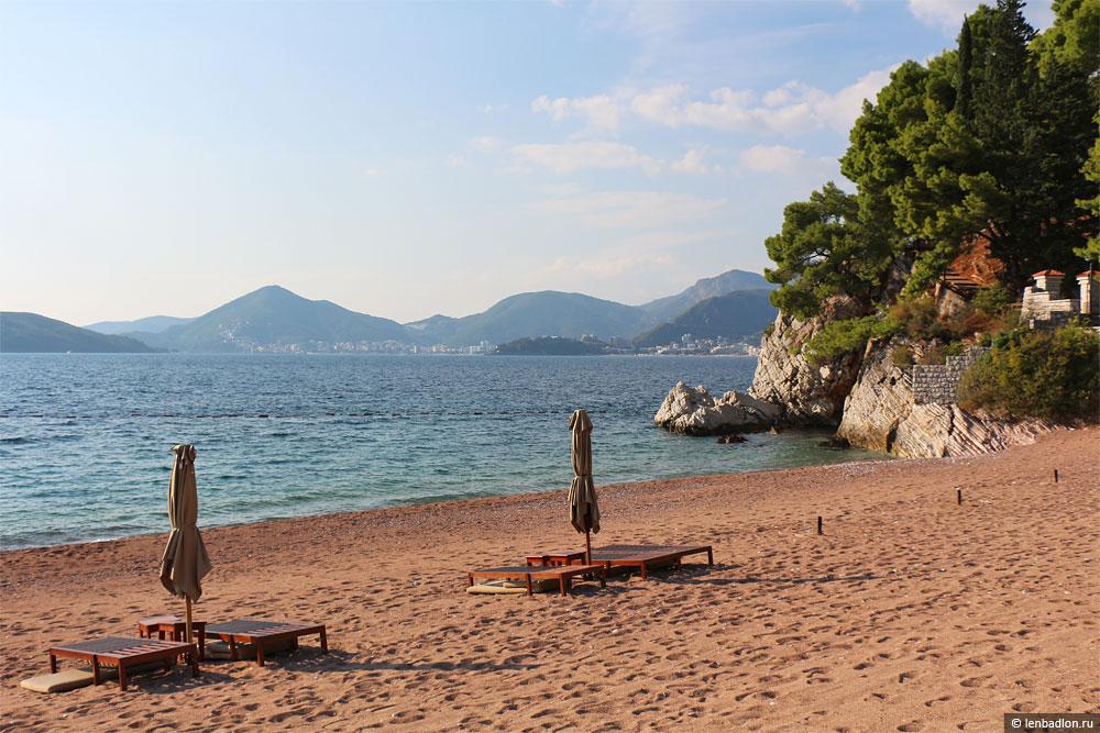 Пляж Свети-Стефан, Черногория
