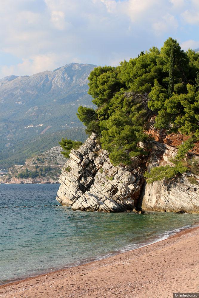 Пляж Свети-Стефан фото