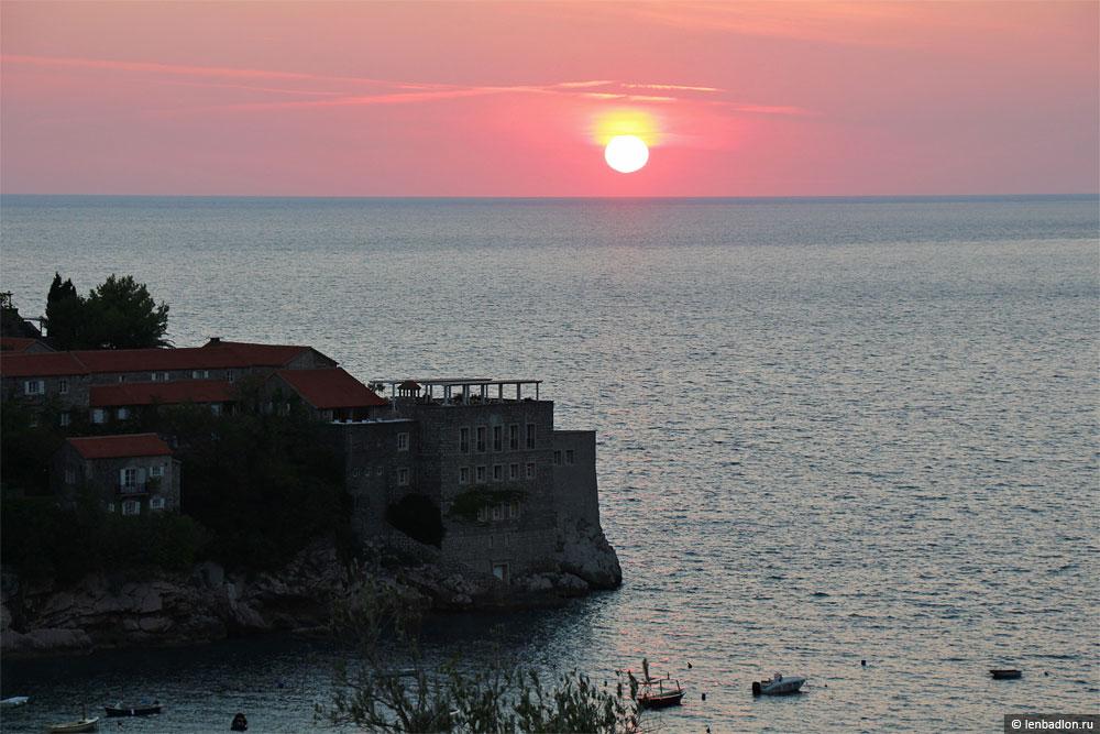 Остров Свети-Стефан, Черногория